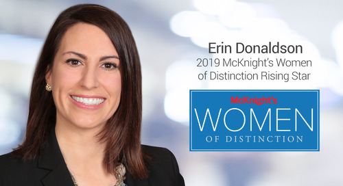"""""""Women of Distinction"""" Rising Star Promotes Diversity and Mentoring in Senior Living Industry"""