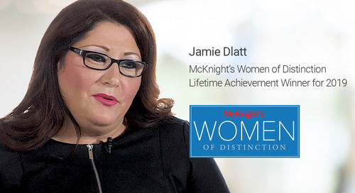 """""""Women of Distinction"""" Honoree Goes the Extra Mile for Her Skilled Nursing Residents"""