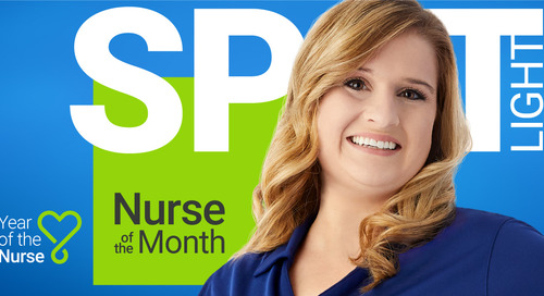 Amanda Williams Ushers in Summer as our June Spotlight Nurse
