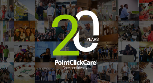 Celebrating 20 Years of PointClickCare!