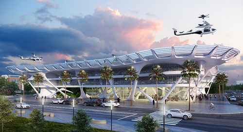 Will Gannett Fleming's SKYPORT Help Uber Take Ridesharing Up in the Air?
