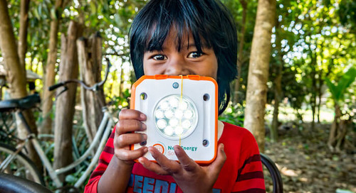 How a Solar Light From Down Under Fights Energy Poverty Where It's Needed Most