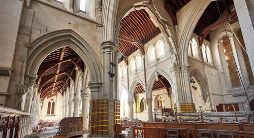 Revitalizing an Earthquake-Ravaged Cathedral Through Digital Collaboration