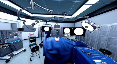 VR 手術シミュレーターで外科医の被爆リスクを低減