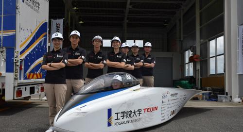 工学院大学のチームが新車両 Eagle で目指す世界最速のソーラーカー