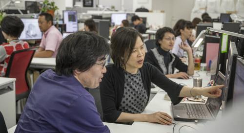 クラウドの活用で大幅な業務効率化を目指す日本設計の働き方改革