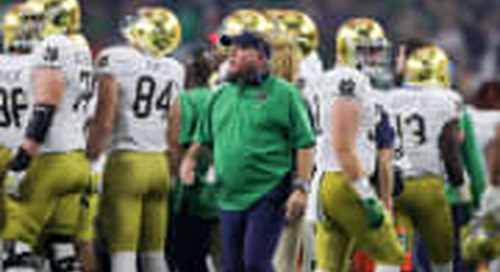 Notre Dame A Popular No. 8-To-10 Choice For 2020