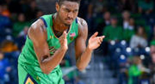 HOOPS: Notre Dame Shows No Mercy In 110-71 Win Over Detroit Mercy