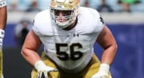 Notre Dame's Highest-Rated Offensive Linemen In Rivals Era
