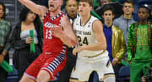 Notre Dame Freshman Guard Robby Carmody To Have Surgery