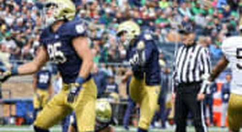 Notre Dame's 19 For '19: No. 17, Kicker Jonathan Doerer