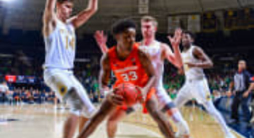 Redundancy: Irish Lose Another Close One, To Syracuse