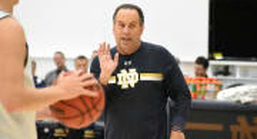 Mike Brey Transcript: Oct. 14