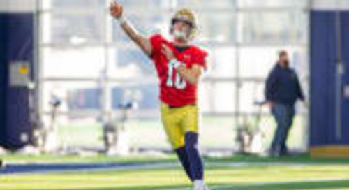 Notre Dame's Best Freshman Quarterbacks