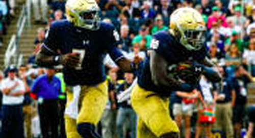 Irish Huddle Podcast: Questions Still Remain For Notre Dame On Offense