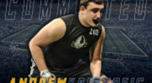 Class Impact: OL Andrew Kristofic To Notre Dame