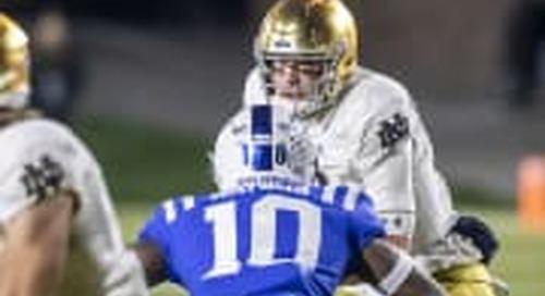 Rapid Review: Notre Dame 38, Duke 7