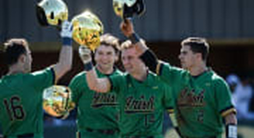 Notre Dame Baseball Preview: Irish To Play Three Games In Alamo Classic