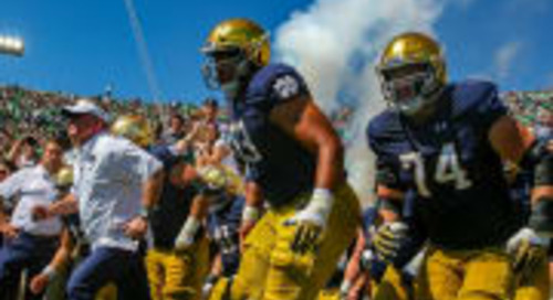 Reports: Notre Dame Reveals Plan For Football Players' Return To Campus