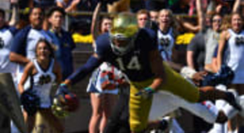 Notre Dame's Kyle Hamilton Earns Freshman All-American Honors