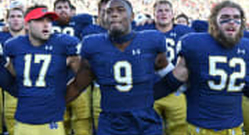 Daelin Hayes Adding To Notre Dame's End Game