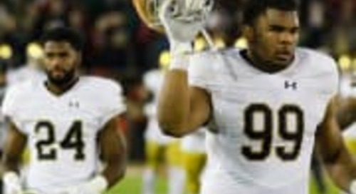 Maturity, Production Of Jerry Tillery Spearheads Notre Dame D-Line