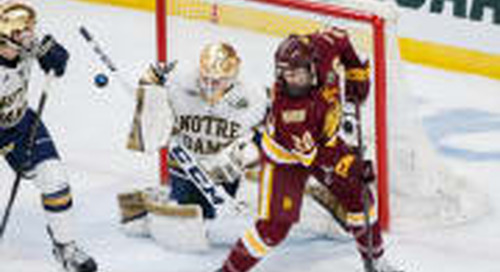 Notre Dame Falls In National Title Game To Minnesota Duluth, 2-1