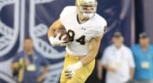 Notre Dame Tight End Cole Kmet Named To Mackey Award Watch List