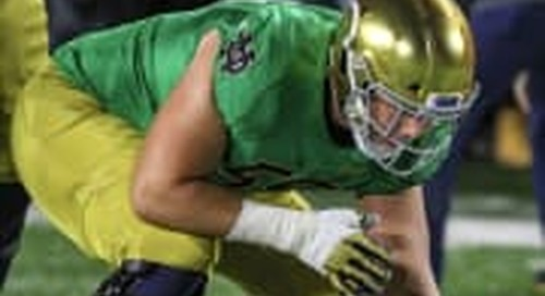 Notre Dame Center Jarrett Patterson Named To Rimington Trophy Watch List