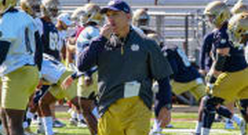 Strength & Conditioning Taking Next Step In Notre Dame Football