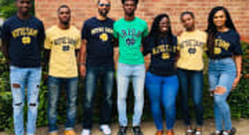 Caleb Offord Reflects On Notre Dame Commitment