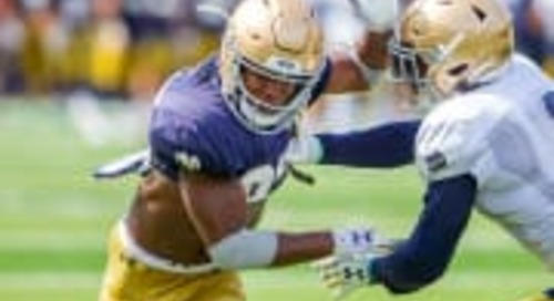 Notre Dame Football Notebook: Practice 12