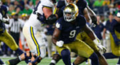 Notre Dame's [Defensive] End Game
