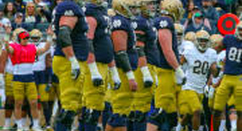 Notre Dame Continues Elite Offensive Line Recruiting And Development