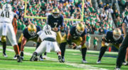 Grades: Notre Dame Offensive Line And Run Game