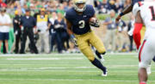 Notre Dame Up To No. 3 In Latest AP Top 25 Poll