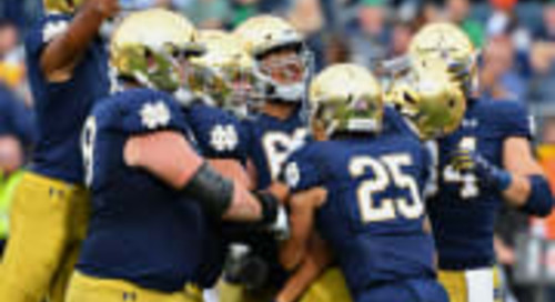 Notre Dame A Top-10 Team In Preseason Coaches Poll