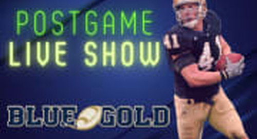 WATCH: Notre Dame-USF Postgame Show With Mike Goolsby