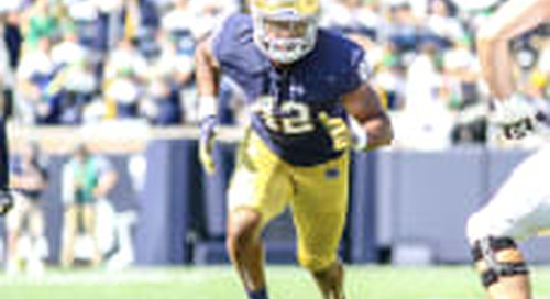 Three Notre Dame Football Players Named To Preseason AP All-American Team