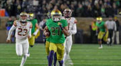 Julian Love, Notre Dame Possess Unanimous Determination