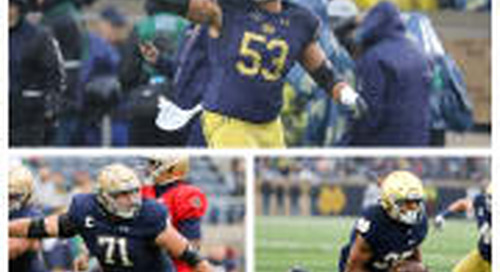 Irish Trio Named AP Preseason All-Americans
