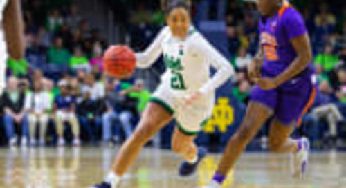Notre Dame Women's Basketball Releases Non-League Schedule