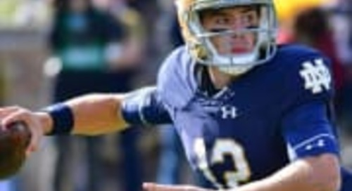 Ian Book, Notre Dame Reach New Starting Point