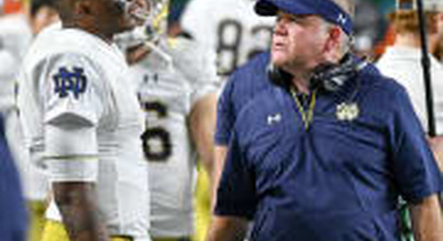 Poise Amid The Noise Crucial Step For Brandon Wimbush, Notre Dame Offense