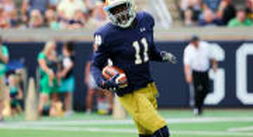 WR Freddy Canteen To Transfer From Notre Dame
