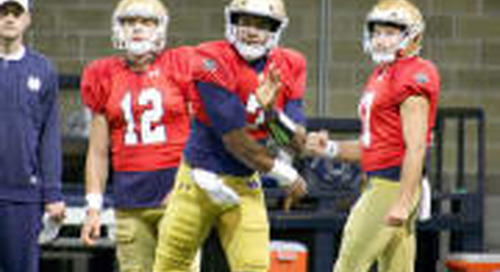 Notre Dame Spring Practice Report - March 20