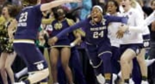 Notre Dame's Arike Ogunbowale Wins 'Best Play' At ESPY Awards
