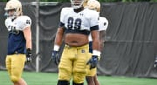 Jerry Tillery Comes Full Circle In Notre Dame Defense