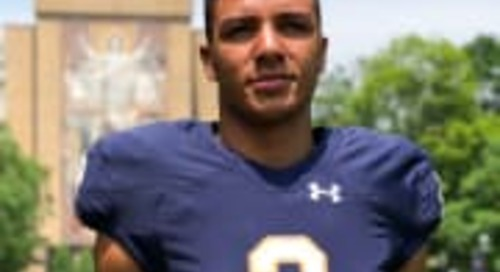 Notre Dame Official Gives 2019 DE Aeneas DiCosmo A Lot To Think About