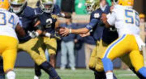 FILM ROOM: RPO's Key To Notre Dame Ground Attack